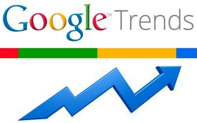 Tendencias de búsqueda de Google